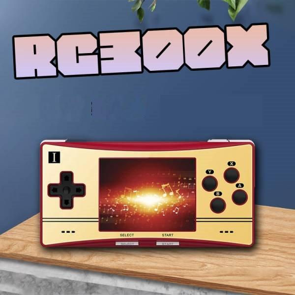 里歐街機 RG300X 3.0英吋IPS螢幕 開源掌機 復古懷舊遊戲 續航6小時