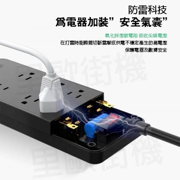 里歐街機 延長線 / 插座擴充器 3C家電 日用家電 防雷科技使3C家電多一分保障