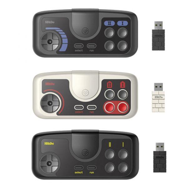 歐街機 8bitdo 八位堂 PCE 2.4G無線手把 復古外觀 連發功能