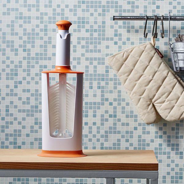 YiLi多功能旋轉刷-橘 YiLi多功能旋轉刷-橘,旋轉刷,廚房刷具,保溫杯刷,刷子,水壺刷,馬克杯刷,玻璃杯刷,清潔用品