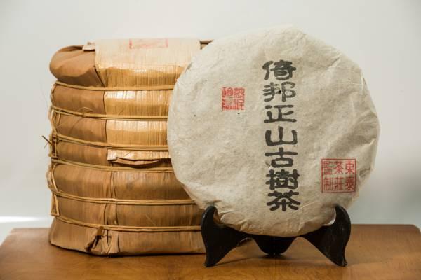 2009年倚邦正山 喬木普洱生茶餅357克