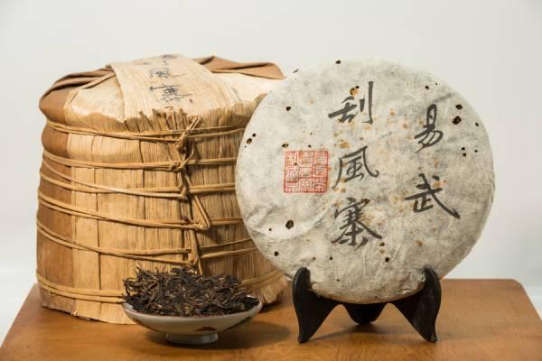 2012年易武刮風寨 古樹普洱生茶餅357克