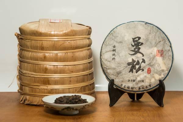 2011年倚邦 曼松 喬木普洱生茶餅200克