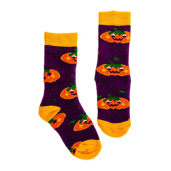 【英國Squelch】防滑棉襪(Pumpkins)