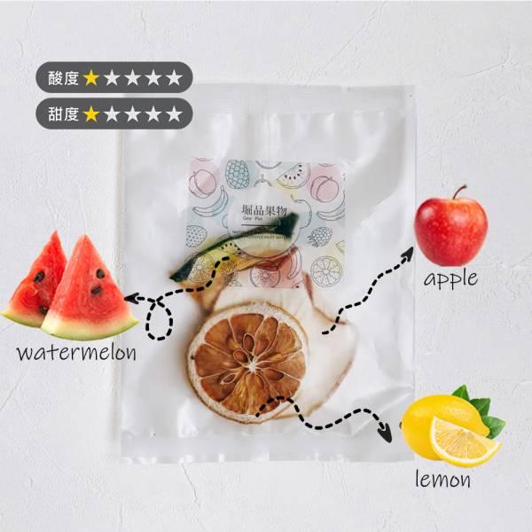【堀品果物】蘋果西瓜果乾水10入組(禮盒包裝)