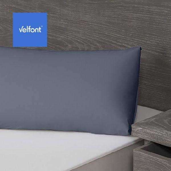 【西班牙Velfont】有機棉 防水保潔枕頭套 50X70公分(淺藍/深灰/淺棕 3色選1) 小防螨、隔螨、過敏、噴嚏、異位性皮膚、西班牙製造、5星級飯店使用、小潔媽潔媽