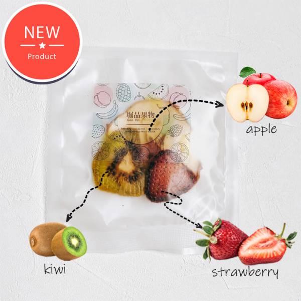 NEW【GeePin Fruitty】Strawberry-Kiwi (strawberry+apple+kiwi) dried fruit & herb water(10 sachets / set)