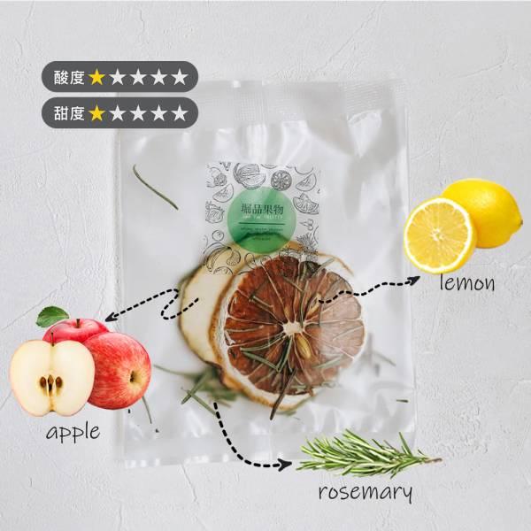 【GeePin Fruitty】Apple-Rosemary(apple+lemon+rosemary) dried fruit & herb water(10 sachets / set)