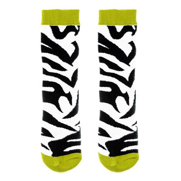 【英國Squelch】防滑棉襪(Zebra)