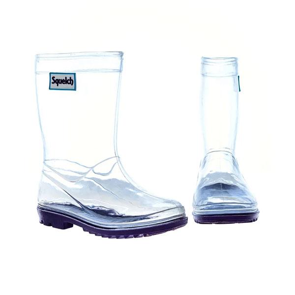 【英國Squelch】透明雨鞋
