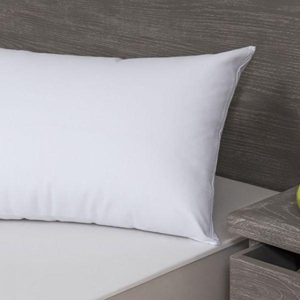 【西班牙Velfont】有機棉 防水保潔枕頭套(50X70公分 白色) 防螨、隔螨、過敏、噴嚏、異位性皮膚、西班牙製造、5星級飯店使用、小潔媽