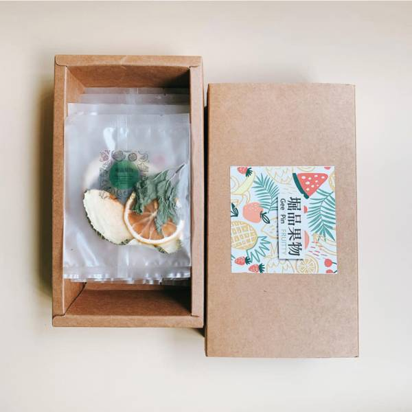 【堀品果物】鮮果草本果乾水15入組(禮盒包裝)