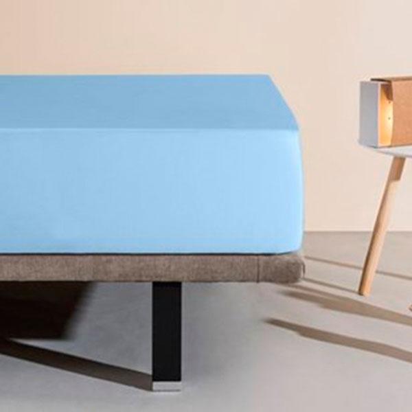 【西班牙Velfont】雙人床防水隔螨有機棉2合1保潔床包(3色可選)-150X200公分 防螨、隔螨、過敏、噴嚏、異位性皮膚、西班牙製造、5星級飯店使用、小潔媽