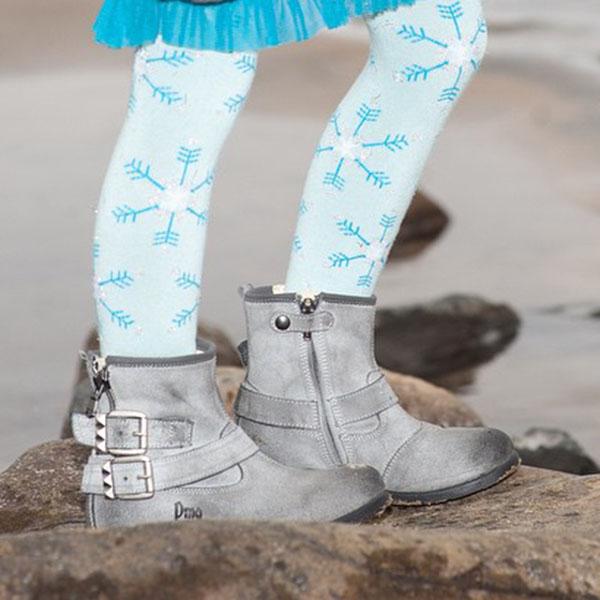 【美國 Luna Leggings 】有機棉內搭褲-(冰雪世界Frozen) 有機棉, 保暖加厚, 厚磅, 溫暖力,  百搭打底