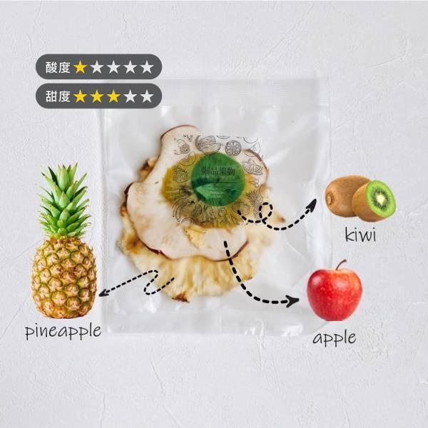 【GeePin Fruitty】Pineapple-Kiwi(pineapple+apple+kiwi) dried fruit & herb water(10 sachets / set)