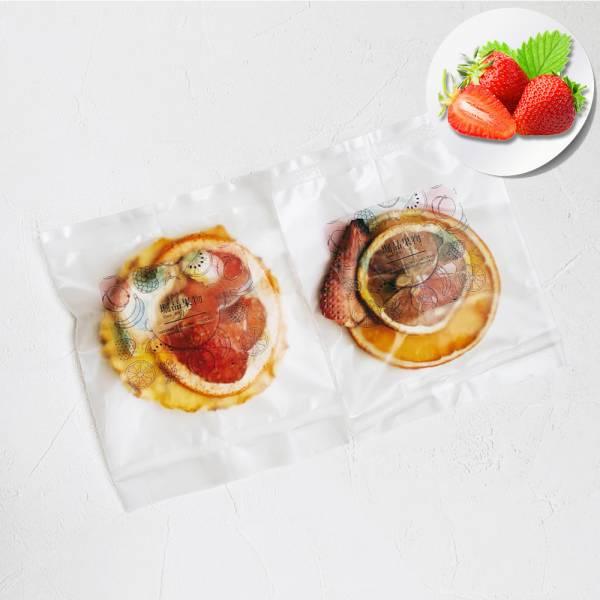 【堀品果物】草莓綜合果乾水10入組(禮盒包裝)
