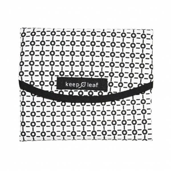 【限定買一送一】加拿大Keep Leaf摺疊食物袋(sandwich wrap)B/W