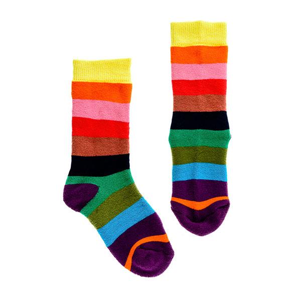 【英國Squelch】防滑棉襪(Rainbow)