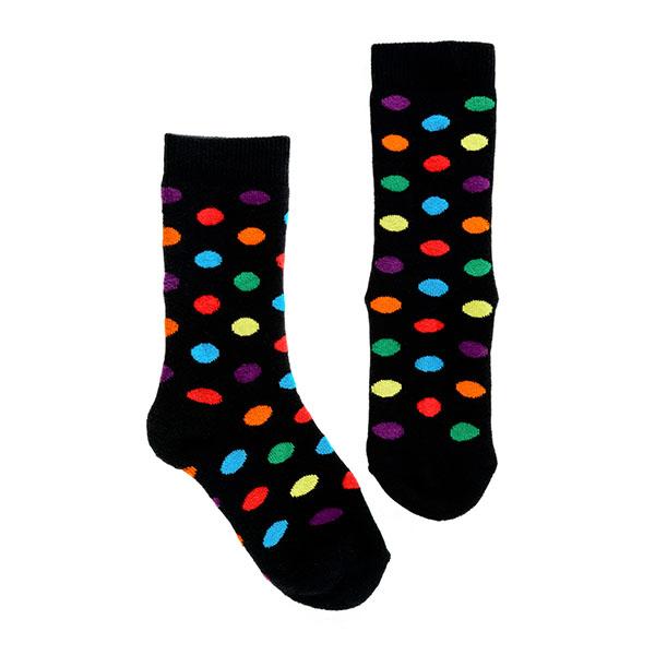 【英國Squelch】防滑棉襪(Rainbow Spots)