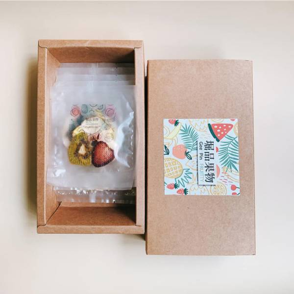 【GeePin Fruitty】Assorted dried fruit & herb water (Mixed Fruits) (15 sachets/ in Gift Box)