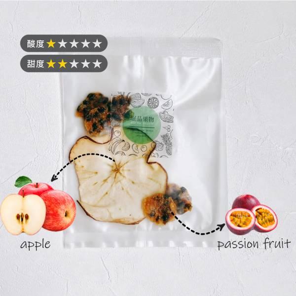 【堀品果物】百香果蘋果乾水10入組(禮盒包裝)