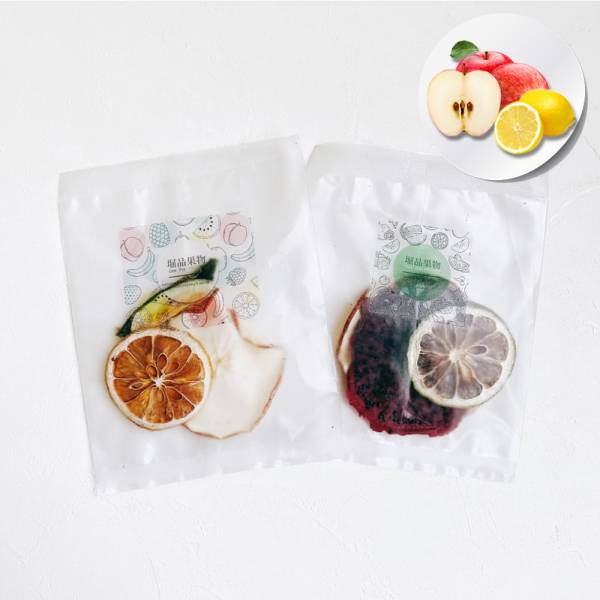【堀品果物】蘋果檸檬綜合果乾水10入組(禮盒包裝)