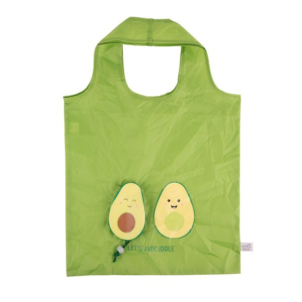 英國設計品牌sass & belle摺疊收納環保購物袋(酪梨)