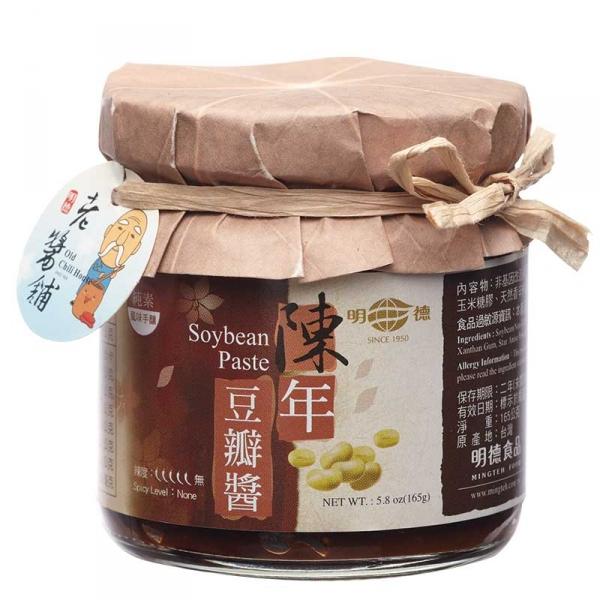 明德風味手釀陳年豆瓣醬 明德食品,岡山豆瓣醬,明德豆瓣醬,發酵豆瓣醬