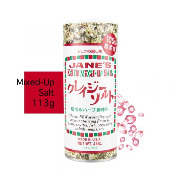 JANE'S珍的魔法鹽(經典岩鹽113g) 魔法鹽,調味鹽,香料鹽,Jane'skrazy,珍的魔法鹽