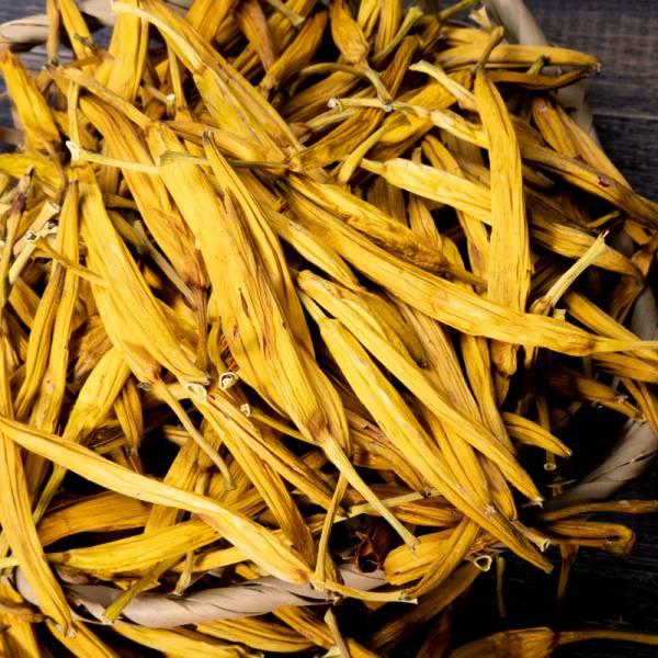 製茶級精焙無硫金針【新品】 無硫金針,六十石山金針,台灣金針,龍安製茶