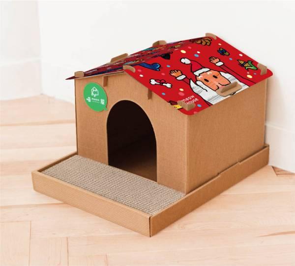 【別墅喵屋+好嗨聖誕屋頂】 (喵屋是貓窩,也是貓抓板~) 別墅 喵屋 別墅喵屋 綠野仙蹤 貓屋 個性化