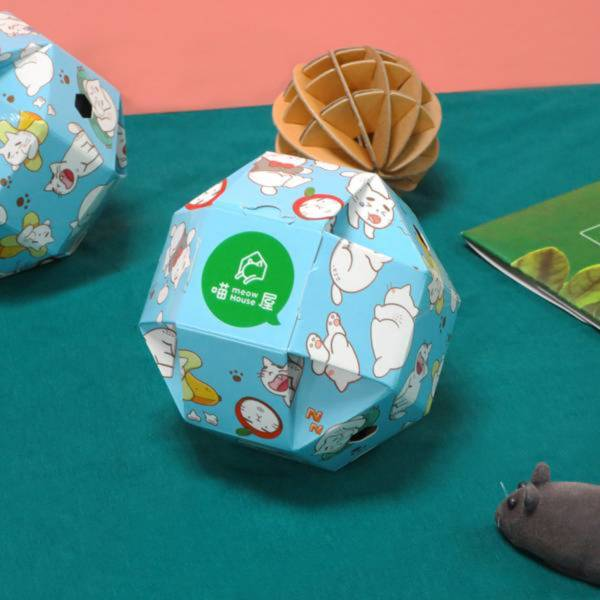 【好食君】寵物互動餵食器 喵屋,貓屋,貓玩具,餵食器,貓咪,互動,台灣,可愛,叮噹,飼料,貓飼料,貓沙,