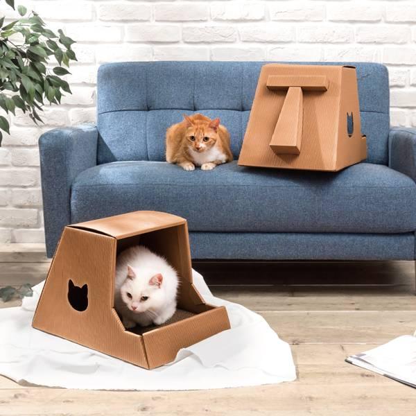【 摩艾躺椅 】質感趣味生活 摩艾像 摩艾 貓屋 躺椅 MEOW 喵屋/貓屋/紙貓屋/寵物居/便宜/質感