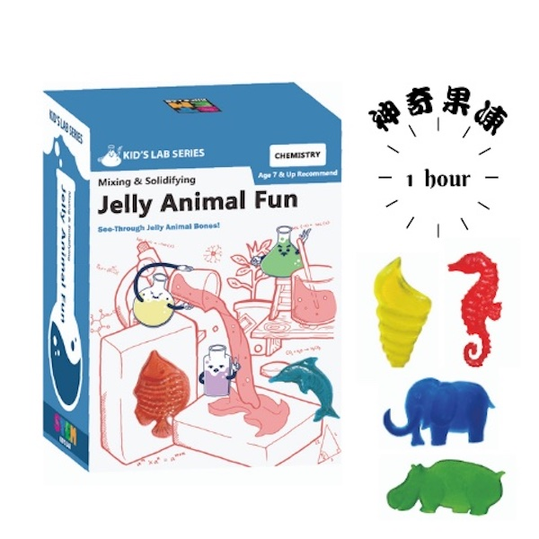 [魔法教室] 果凍動物 DIY