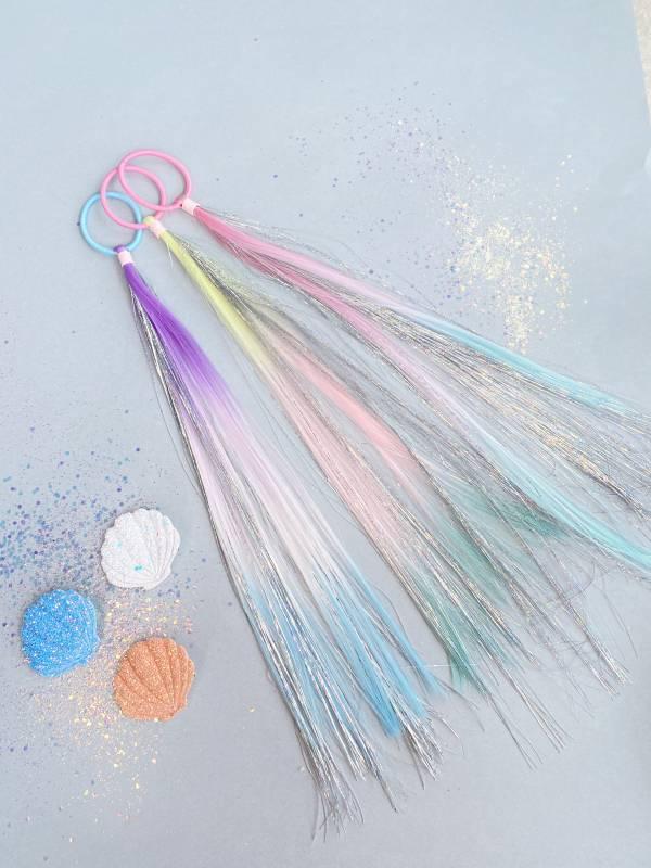 水精靈閃閃甩髮組(髮圈髮夾3 in 1) Sparkly Sparkle