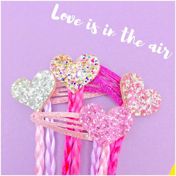 甜心寶貝(辮夾組)Sweet Hearts
