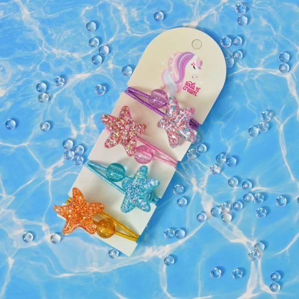 海星亮晶晶髮圈組