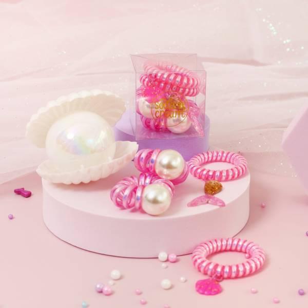 珍珠美人魚珠寶盒 粉
