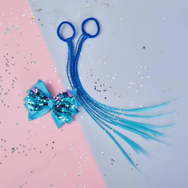 彩虹小馬辮組 (藍) Blue Pony