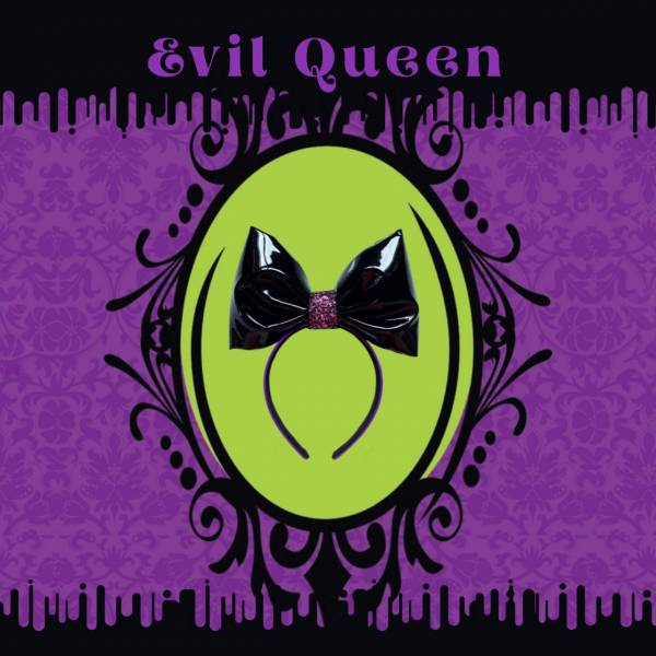 壞皇后皇冠 Evil Queen Headband