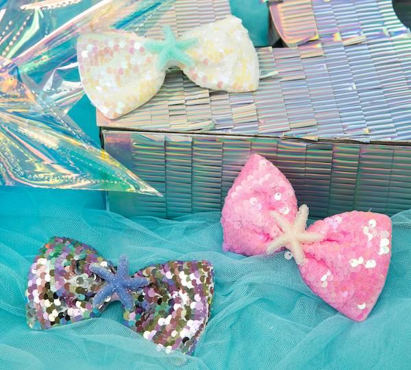 海星亮晶晶蝴蝶結組
