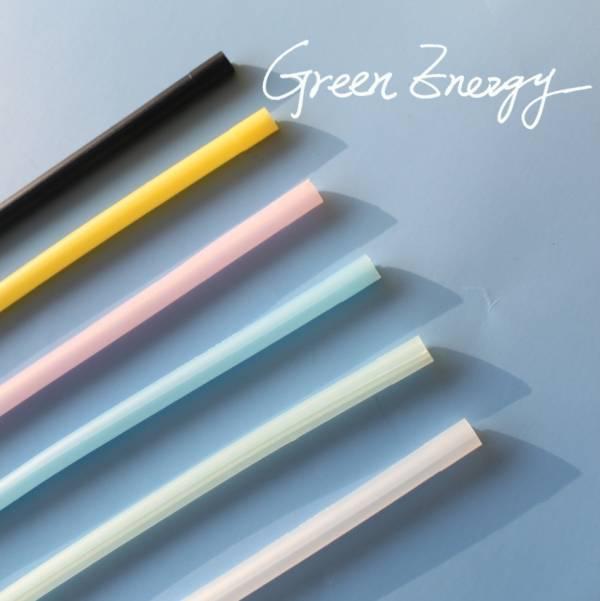 Green Energy可拆洗環保矽膠吸管 - 細吸管 矽膠吸管,吸管,環保,海龜,不塑,減塑,矽膠,綠吸能,環保餐具,可拆洗吸管