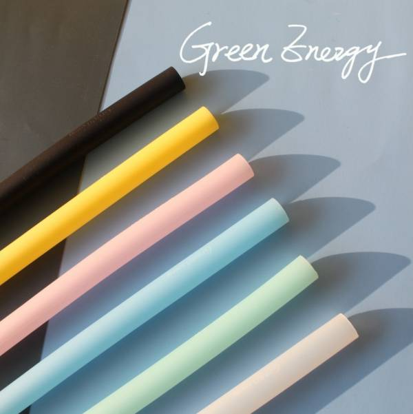 Green Energy可拆洗環保矽膠吸管 - 粗吸管 矽膠吸管,吸管,環保,海龜,不塑,減塑,矽膠,綠吸能,環保餐具,可拆洗吸管