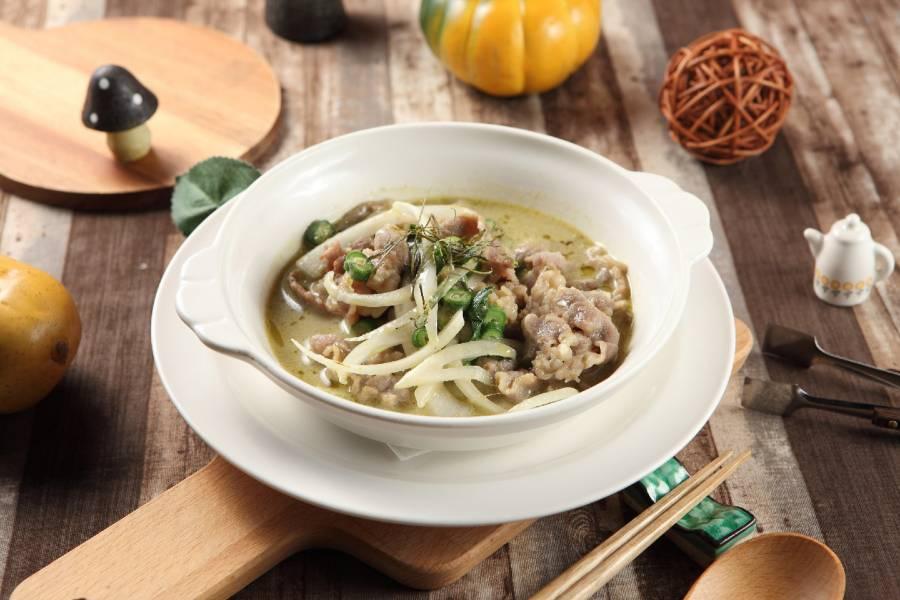 泰式綠咖哩椰汁牛肉