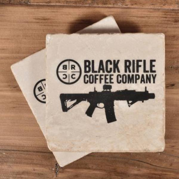 BRCC【SBR大理石杯墊】 ott,ottgear,BRCC,Black Rifle Coffee Company,大理石,杯墊,SBR