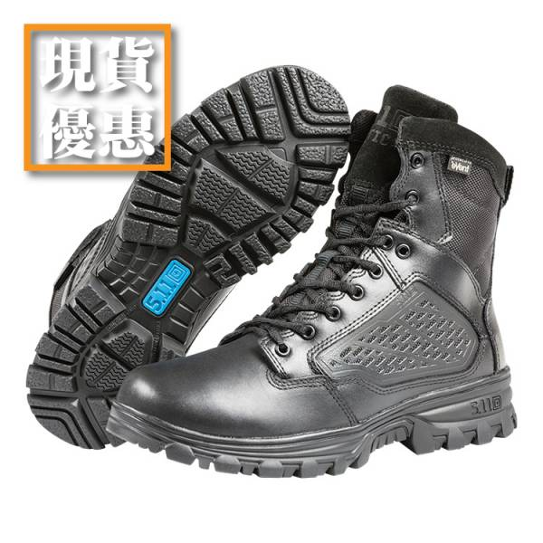 "In Stock and Discount【EVO 8"" Waterproof Boot with Sidezip】#12312 ott,ottgear,511,5.11,5.11台北,5.11台灣,5.11taiwan,5.11台灣總代理,5.11台灣總經銷,戰術靴,軍靴,警靴,勤務靴,防水靴,戰術鞋,勤務鞋,防水鞋,鋼頭,安全鞋"