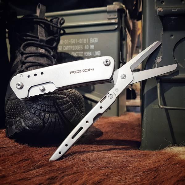 Roxon【KS雙用摺疊刀(2合1)】S501