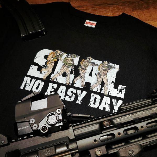 OTT【NO EASY DAY】 OTT,OTTGEAR,OTT GEAR,T-shirt,tshirt,shirt,SEAL,海豹,海軍特戰