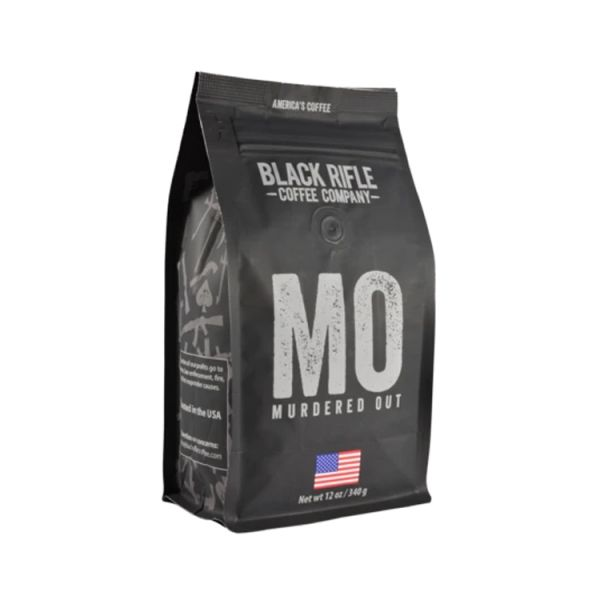 BRCC【Murdered Out Coffee Roast】 ott,BRCC,Black Rifle Coffee Company,咖啡豆,空運進口咖啡豆,美式咖啡