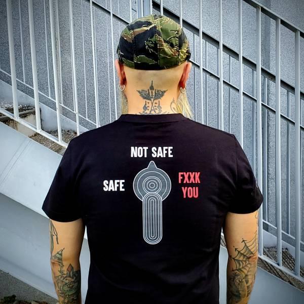 OTT【AR步枪保险选择钮态度T】 OTT,OTTGEAR,OTT GEAR,T-shirt,tshirt,shirt,T恤,酒醉,迷失